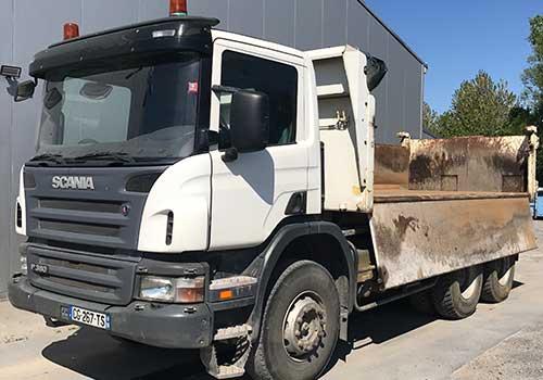 camion benne TP+
