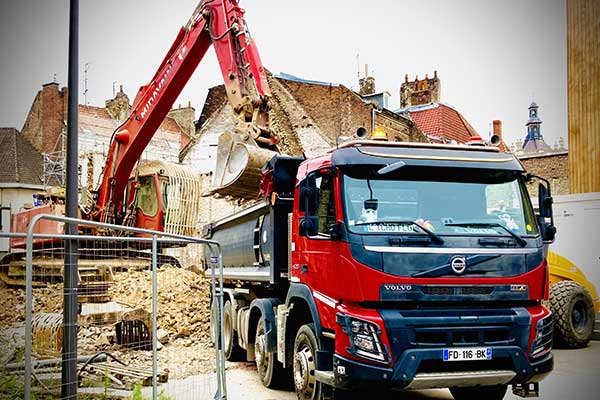 Location camion benne Amiens